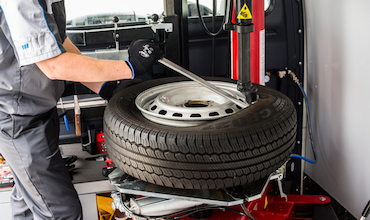 mobile tyre fitment